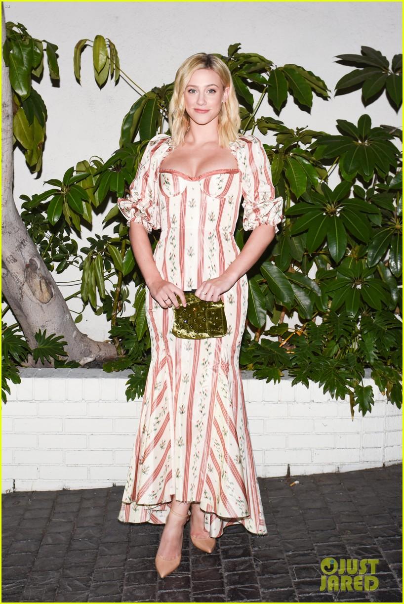 sarah hyland lili reinhart w magazine party 384206057