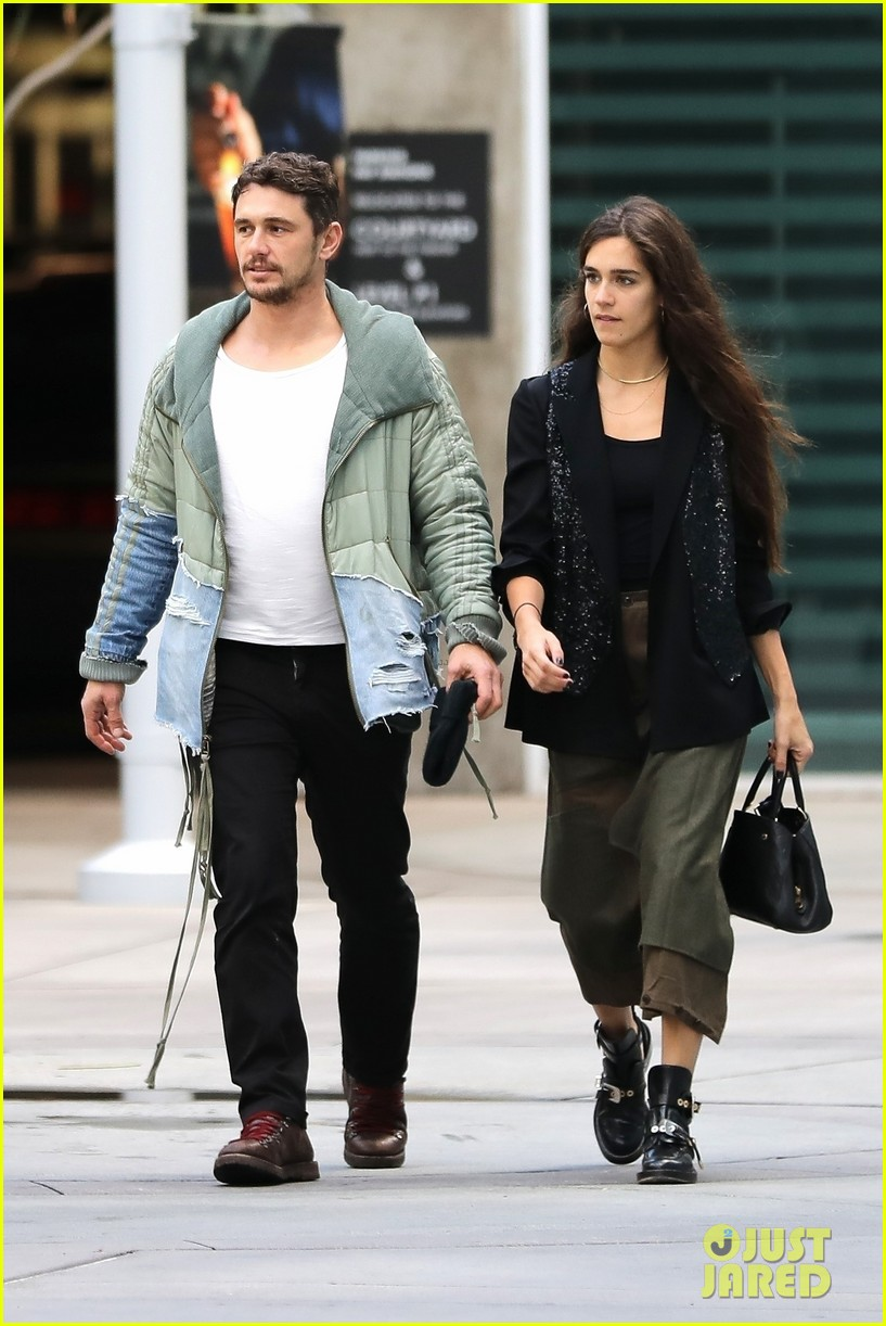 James Franco & Girlfriend Isabel Pakzad Have an Afternoon ...