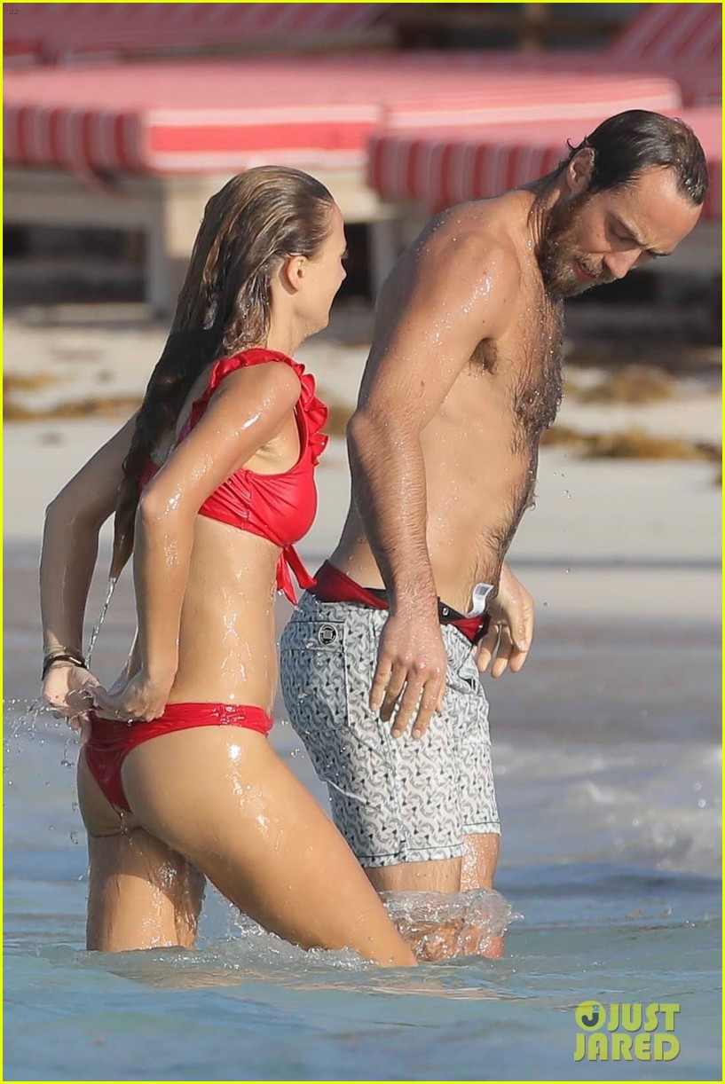 James Middleton Packs On The PDA With New Girlfriend In St
