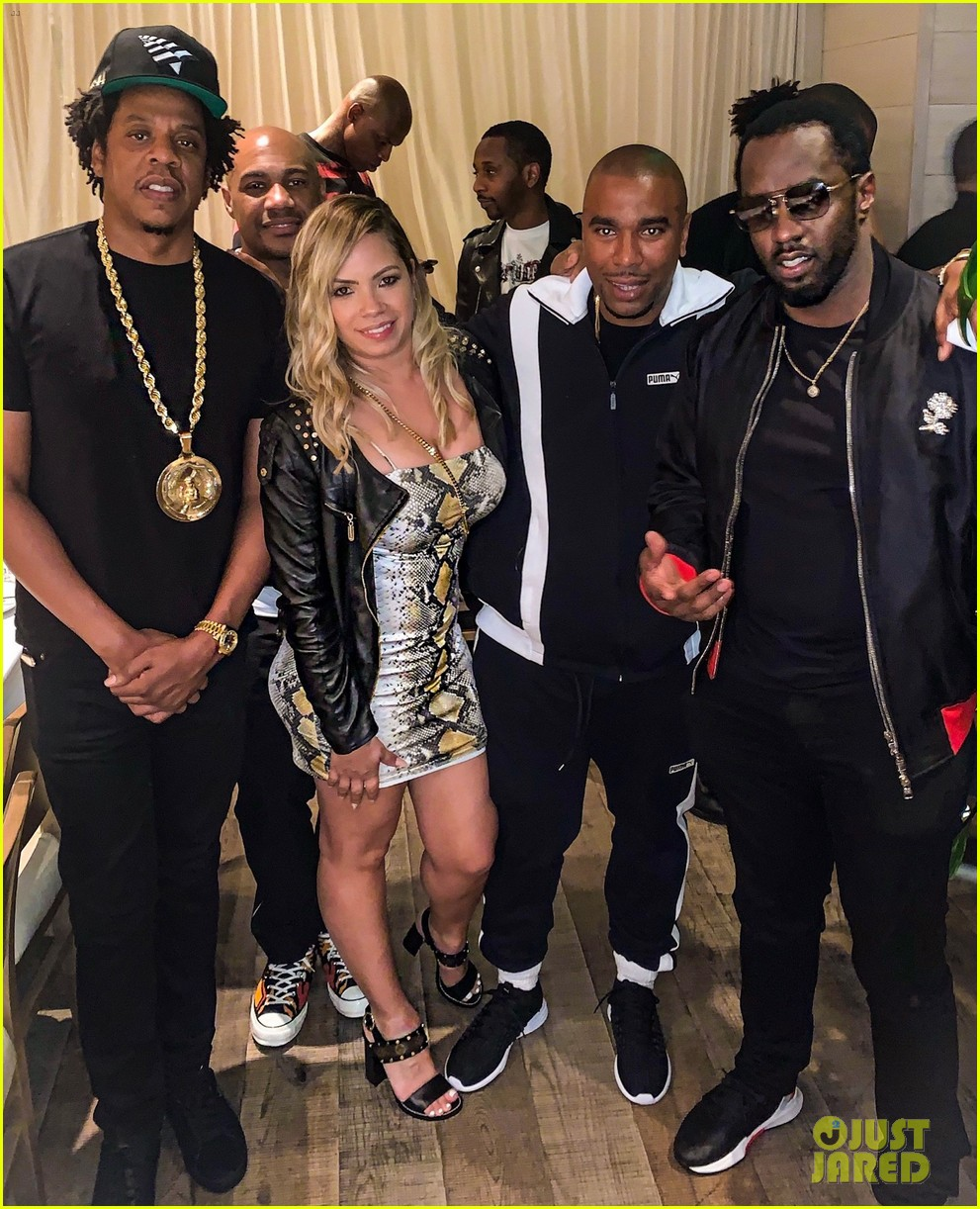 jay z beyonce diddy more celebrate biggs burke birthday at private dinner 024215041