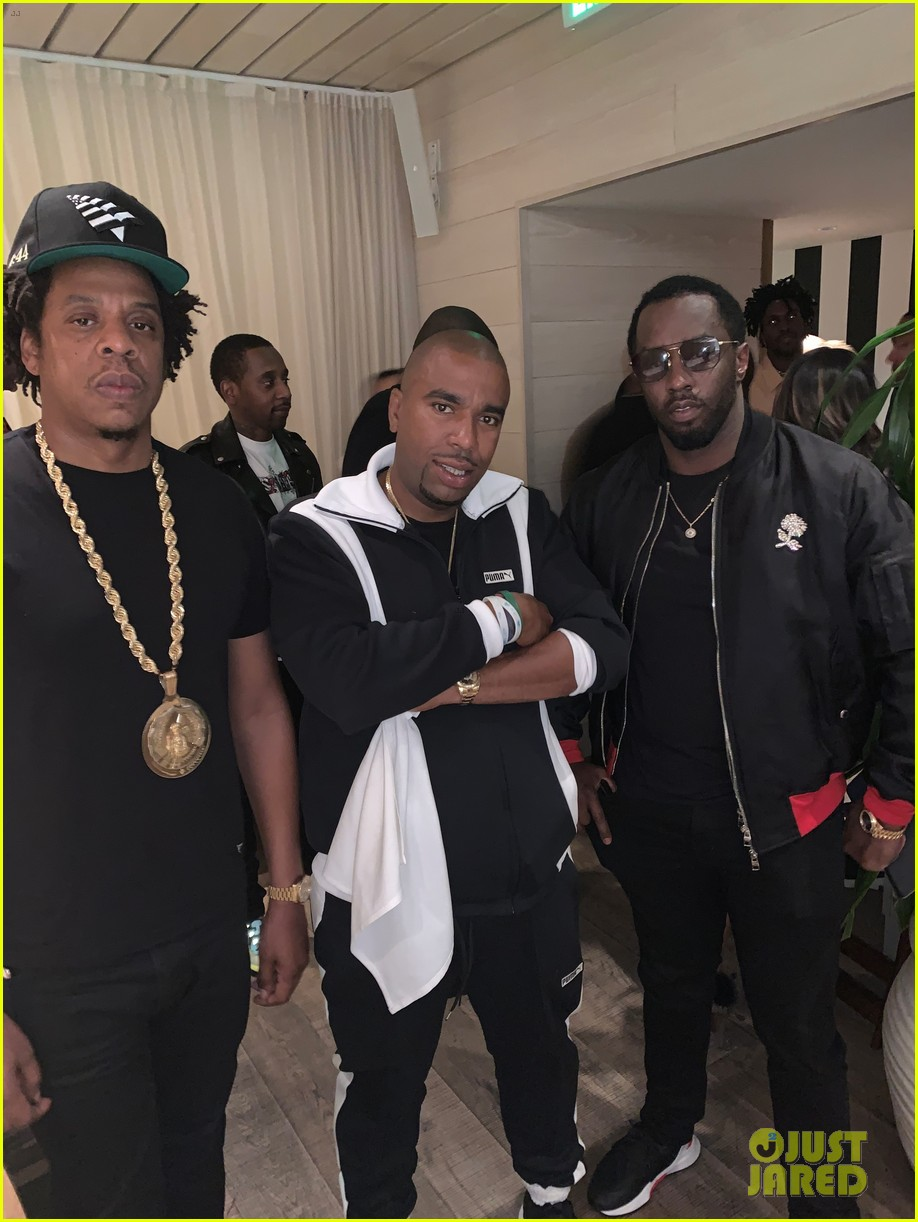 jay z beyonce diddy more celebrate biggs burke birthday at private dinner 034215042