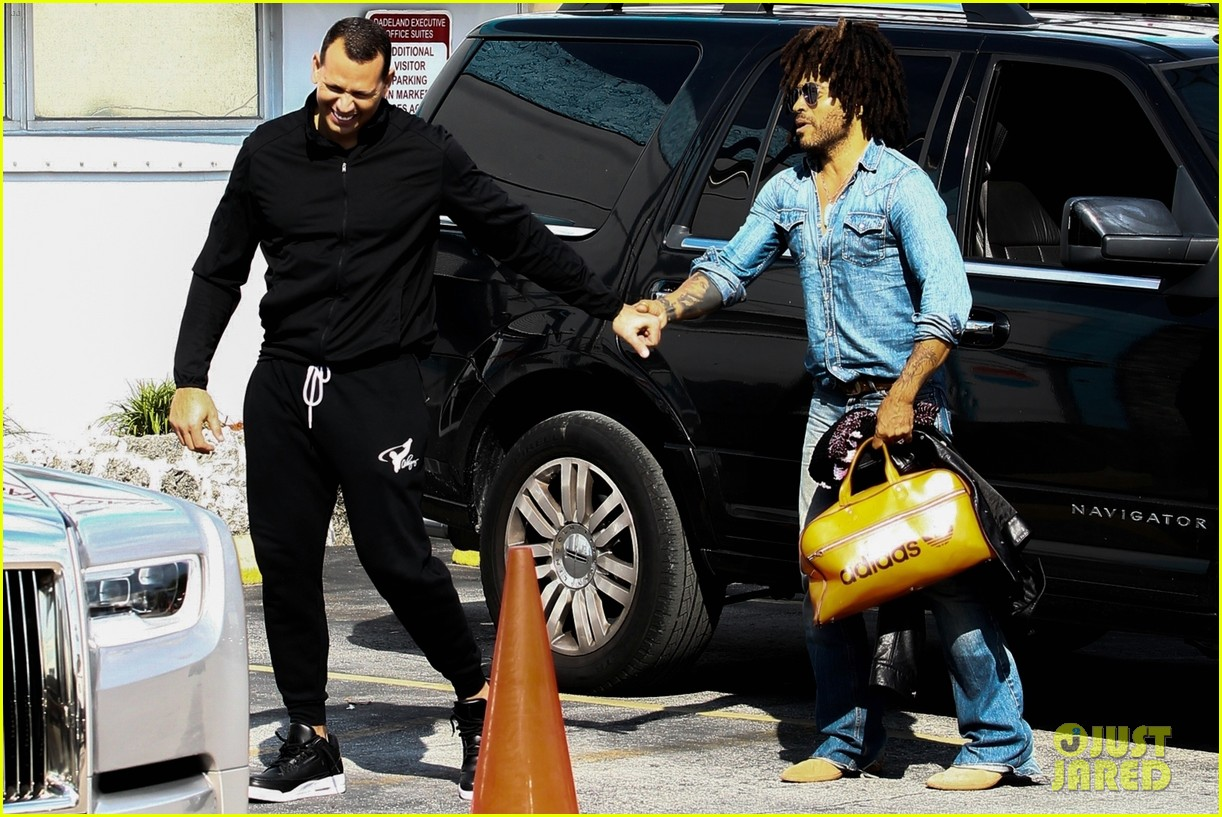 jennifer lopez alex rodriguez work out with lenny kravitz 054221018