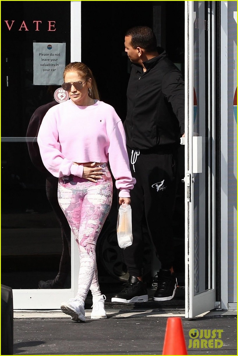 jennifer lopez alex rodriguez work out with lenny kravitz 104221023
