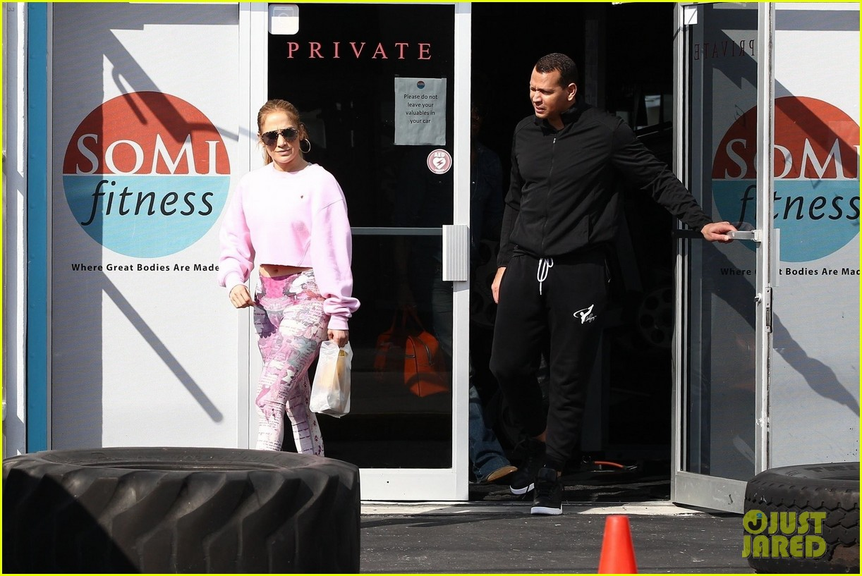jennifer lopez alex rodriguez work out with lenny kravitz 344221047