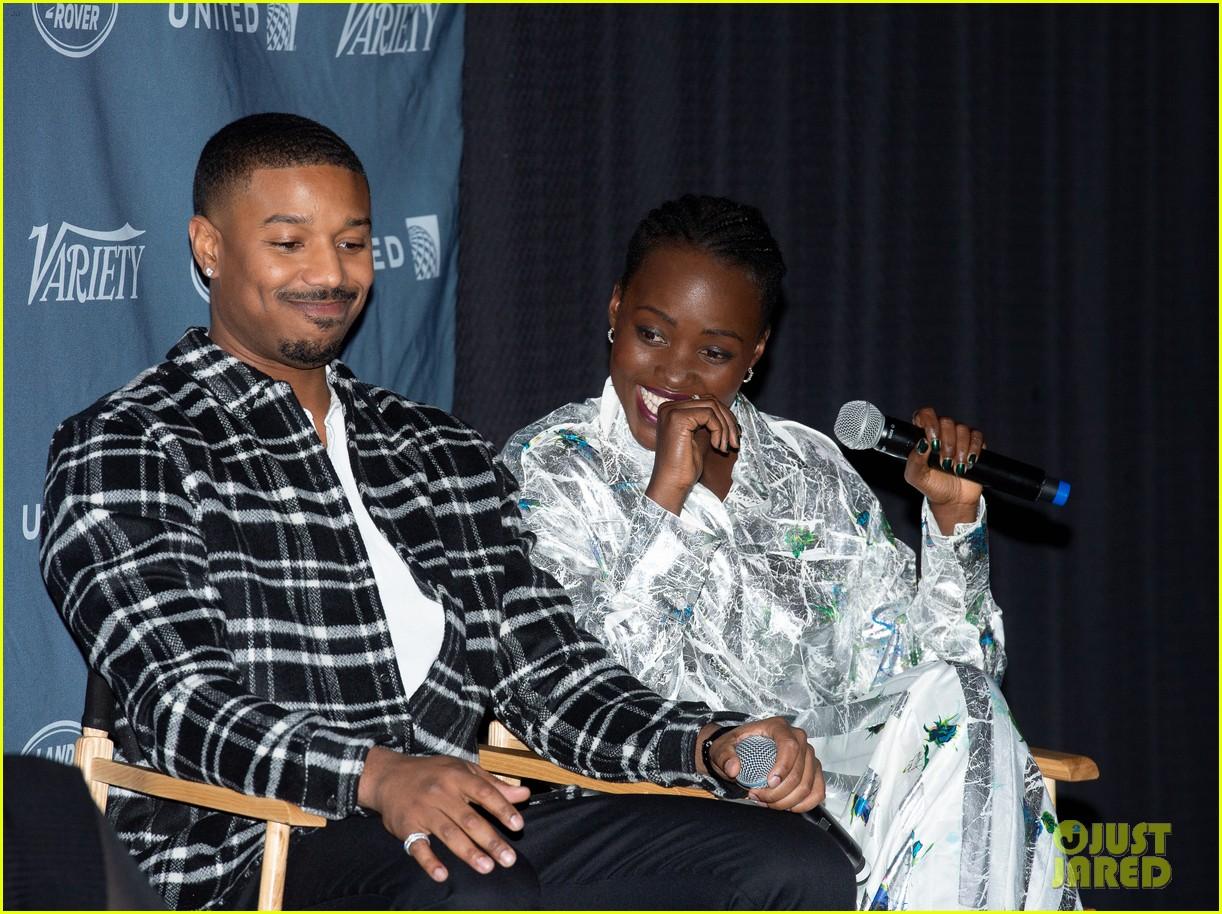 michael b jordan lupita nyongo shut down romance rumors were good friends 10
