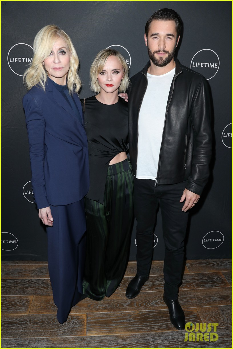 judith light christina ricci josh bowman promote lifetime movie 03