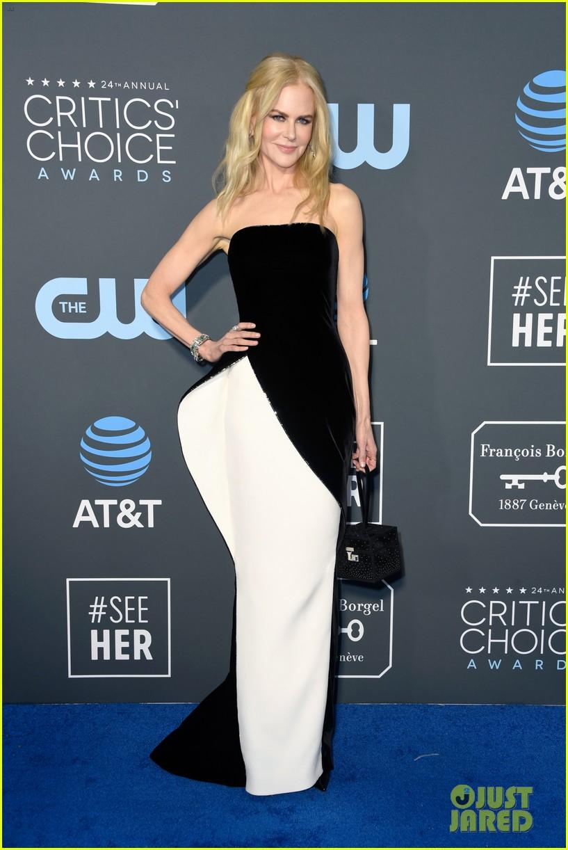 2019 Critics Choice Awards: Nicole Kidman Shows Her Style At Critics' Choice Awards
