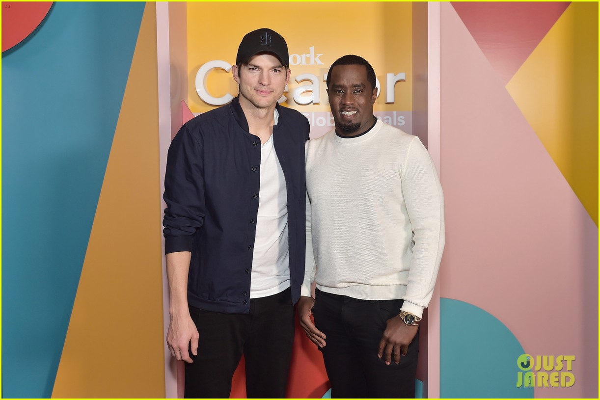 ashton kutcher diddy more team up to judge weworkcreator global finals 014209729