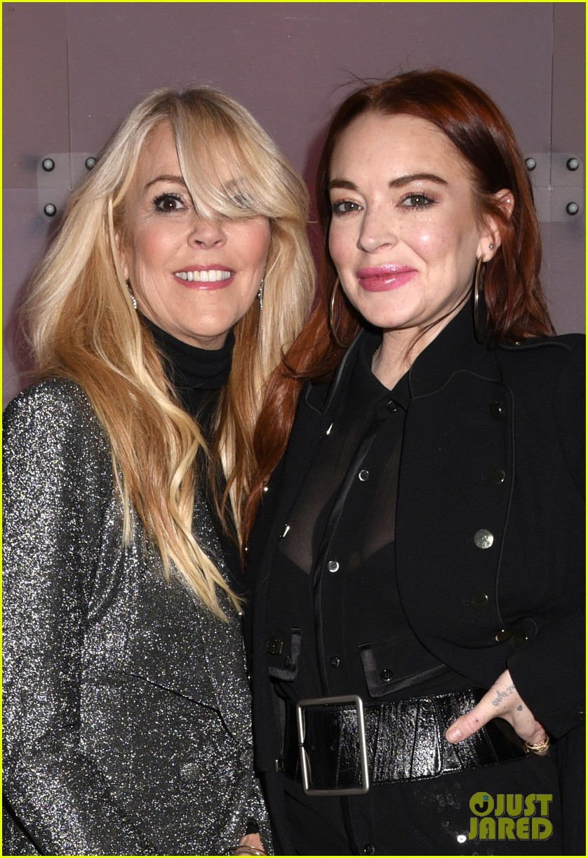 lindsay lohan attends robin thickes new years eve party 08