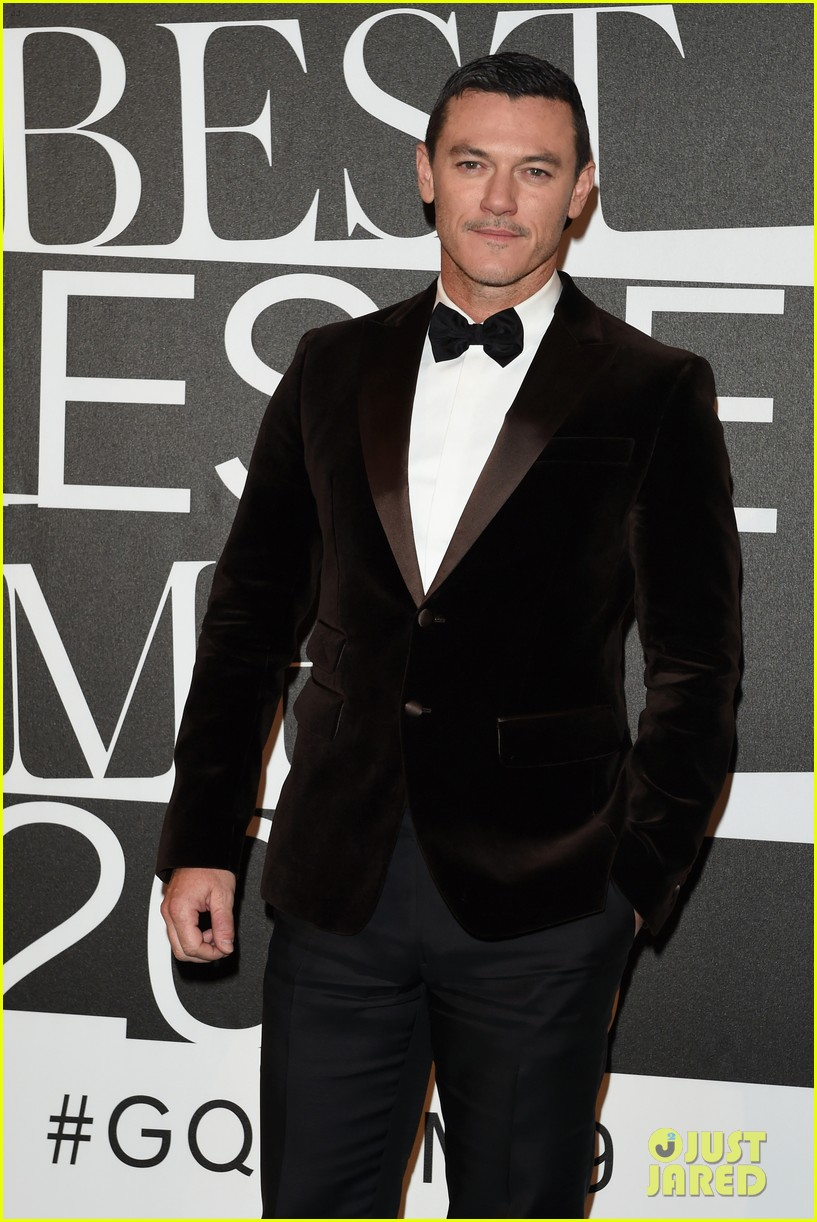 Luke Evans Suits Up For 'GQ' Best Dressed Men Event in ...