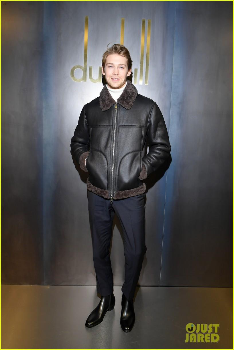 rami malek joe alwyn riz ahmed step out for dunhill fashion show in paris 07