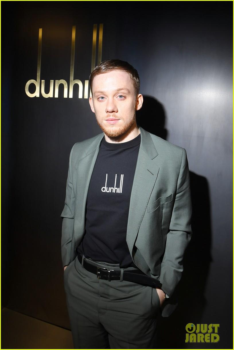 rami malek joe alwyn riz ahmed step out for dunhill fashion show in paris 09