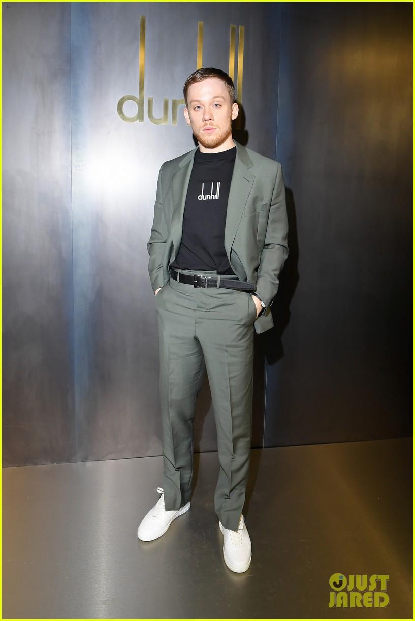 rami malek joe alwyn riz ahmed step out for dunhill fashion show in paris 12