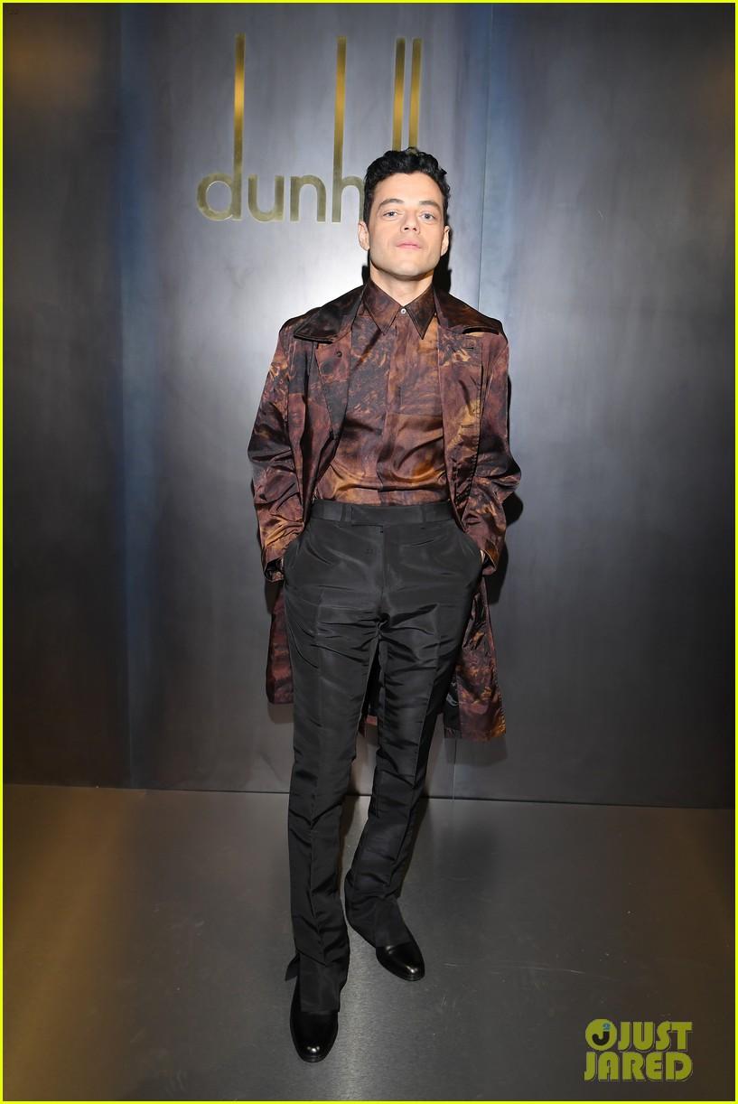 rami malek joe alwyn riz ahmed step out for dunhill fashion show in paris 14
