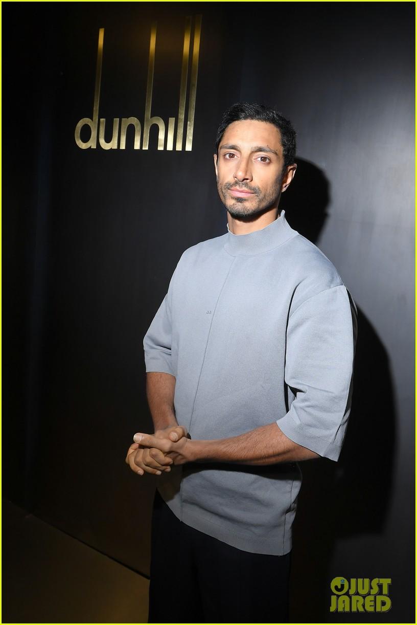 rami malek joe alwyn riz ahmed step out for dunhill fashion show in paris 15