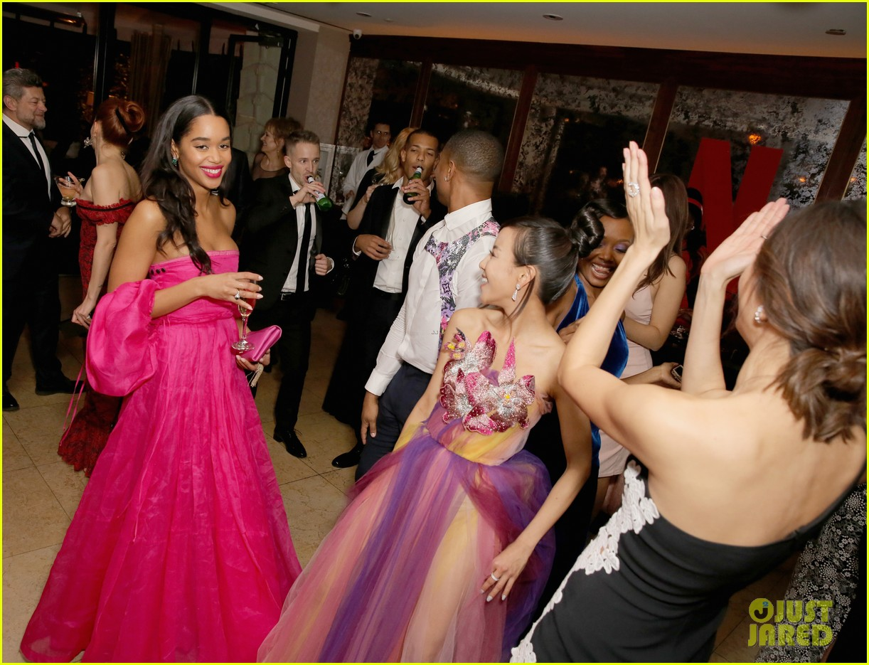rami malek timothee chalamet more live it up at netflix sag awards after party 184219192