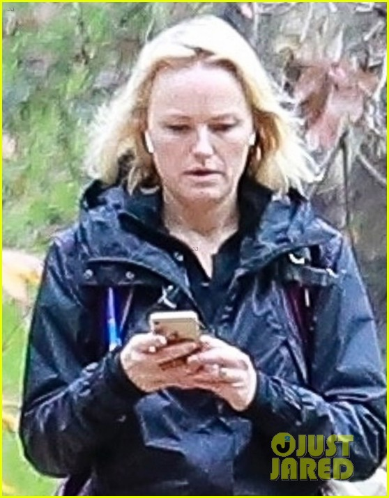 malin akerman braves rainy weather for afternoon hike 044213172