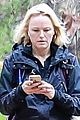 malin akerman braves rainy weather for afternoon hike 04