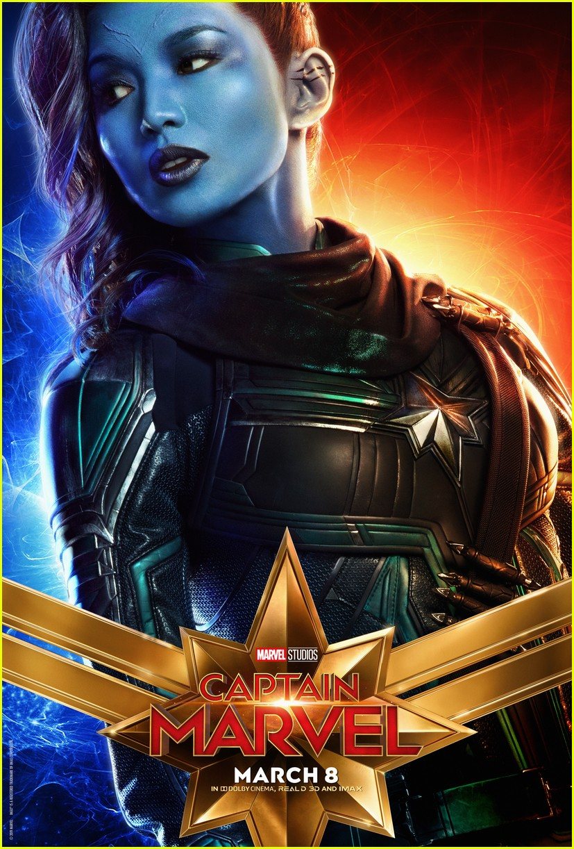 captain marvel character posters 06
