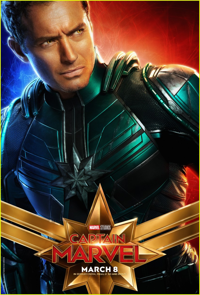 captain marvel character posters 09