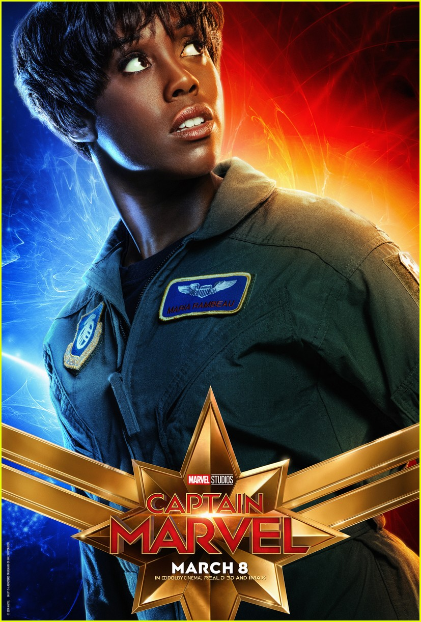 captain marvel character posters 10
