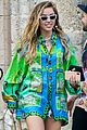 miley cyrus gets colorful in miami 05