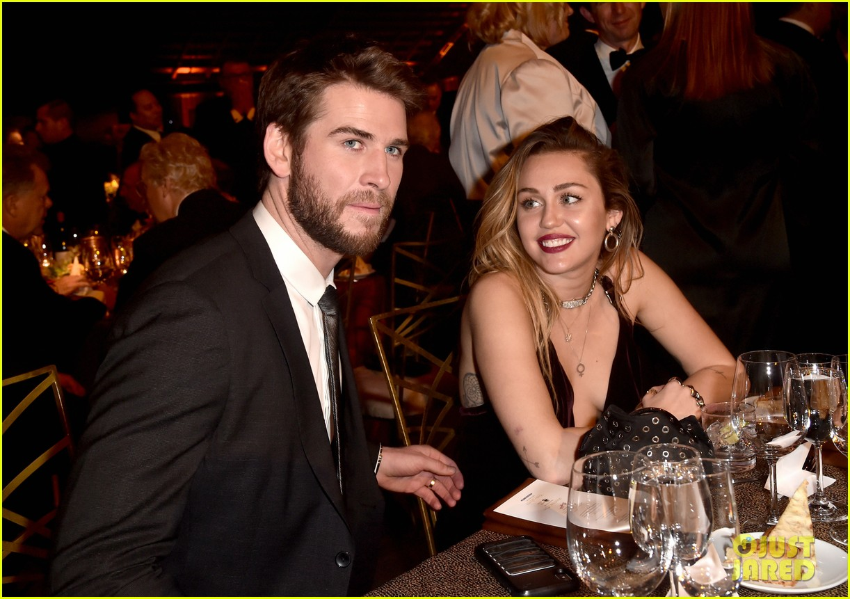 Miley Cyrus & Liam Hemsworth Make First Public Appearance ... - photo #39