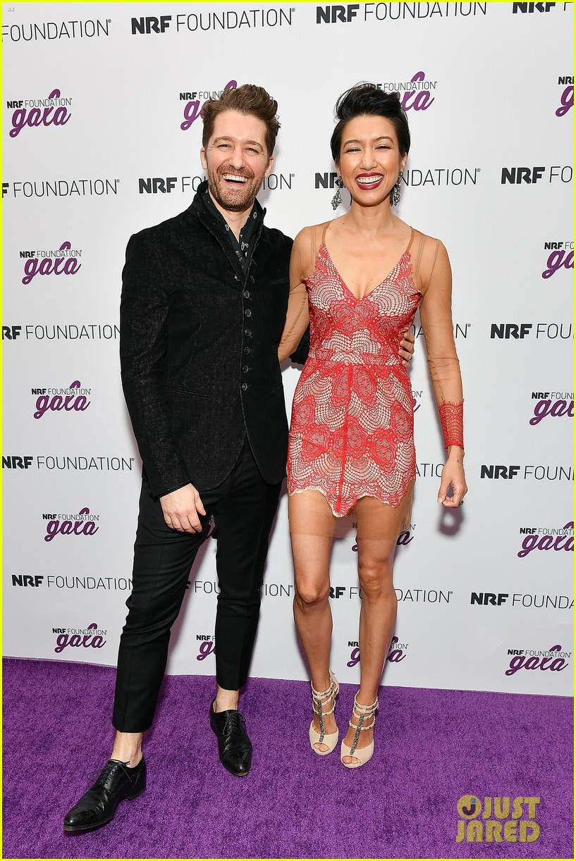 matthew morrison wife renee couple up at nrf foundation gala 2019 014211903