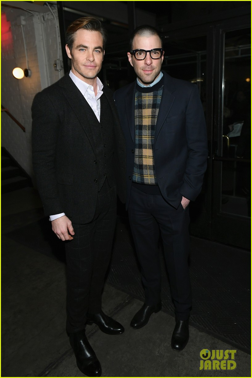 chris pine zachary quinto i am the night premiere 104215263