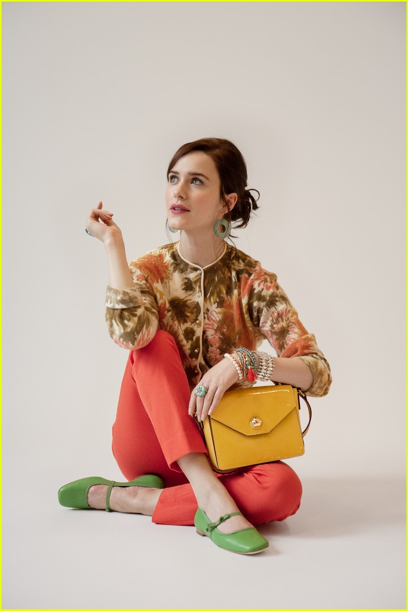 rachel brosnahan pays tribute to late aunt kate spade in  u0026 39 frances valentine u0026 39  campaign  photo