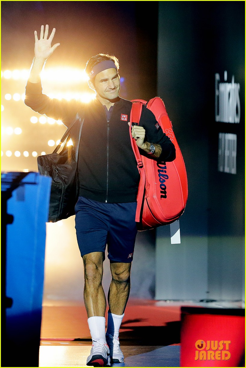 roger federer defeats serena williams in mixed doubles tournament 06