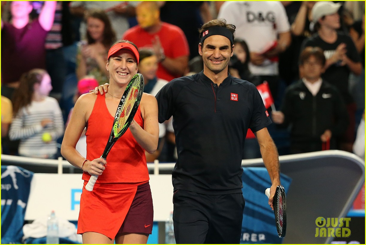 roger federer defeats serena williams in mixed doubles tournament 13