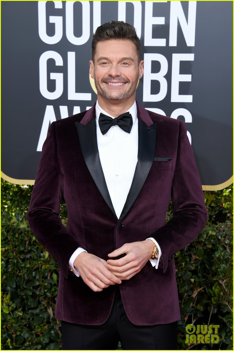 ryan seacrest red carpet 2019 golden globes 02