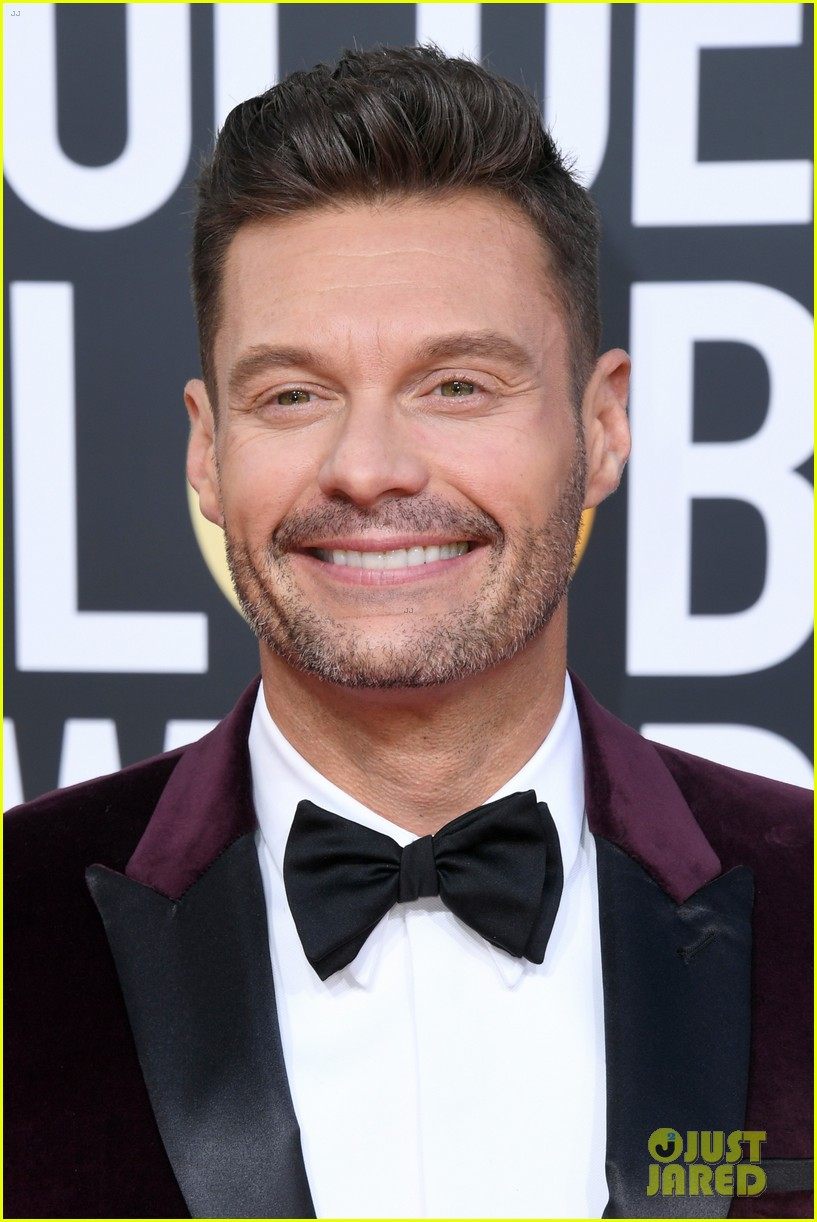 ryan seacrest red carpet 2019 golden globes 04