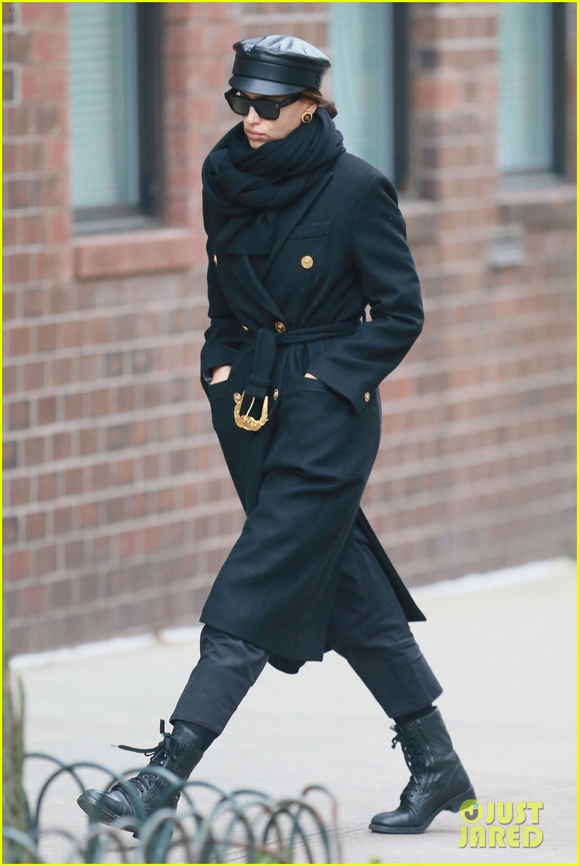 irina shayk bundles up for day out in nyc 01