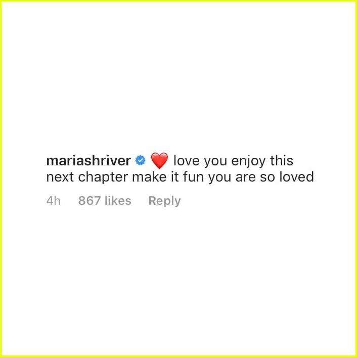 maria shriver reacts katherine chris pratt engagement 01