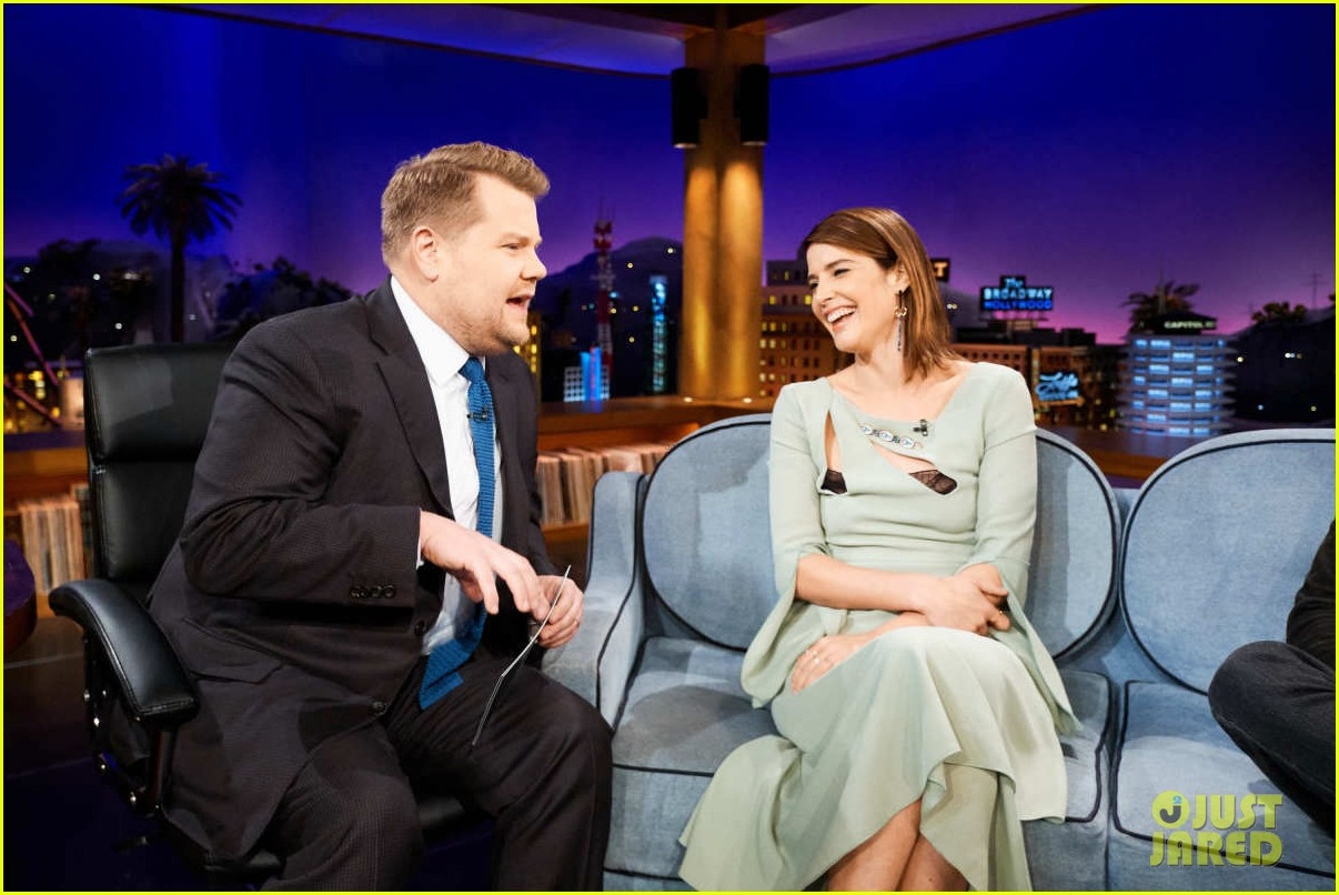 cobie smulders sebastian stan field avengers theories on late late show 04
