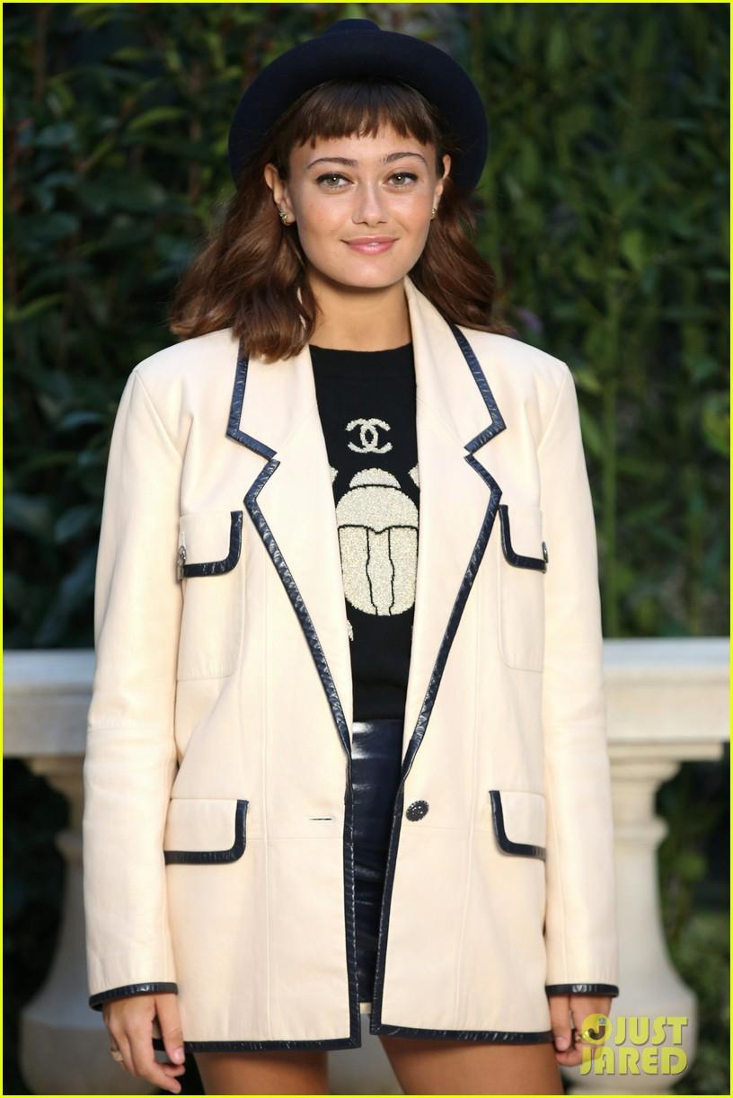 kristen stewart tessa thompson marion cotillard step out for chanel haute couture 14