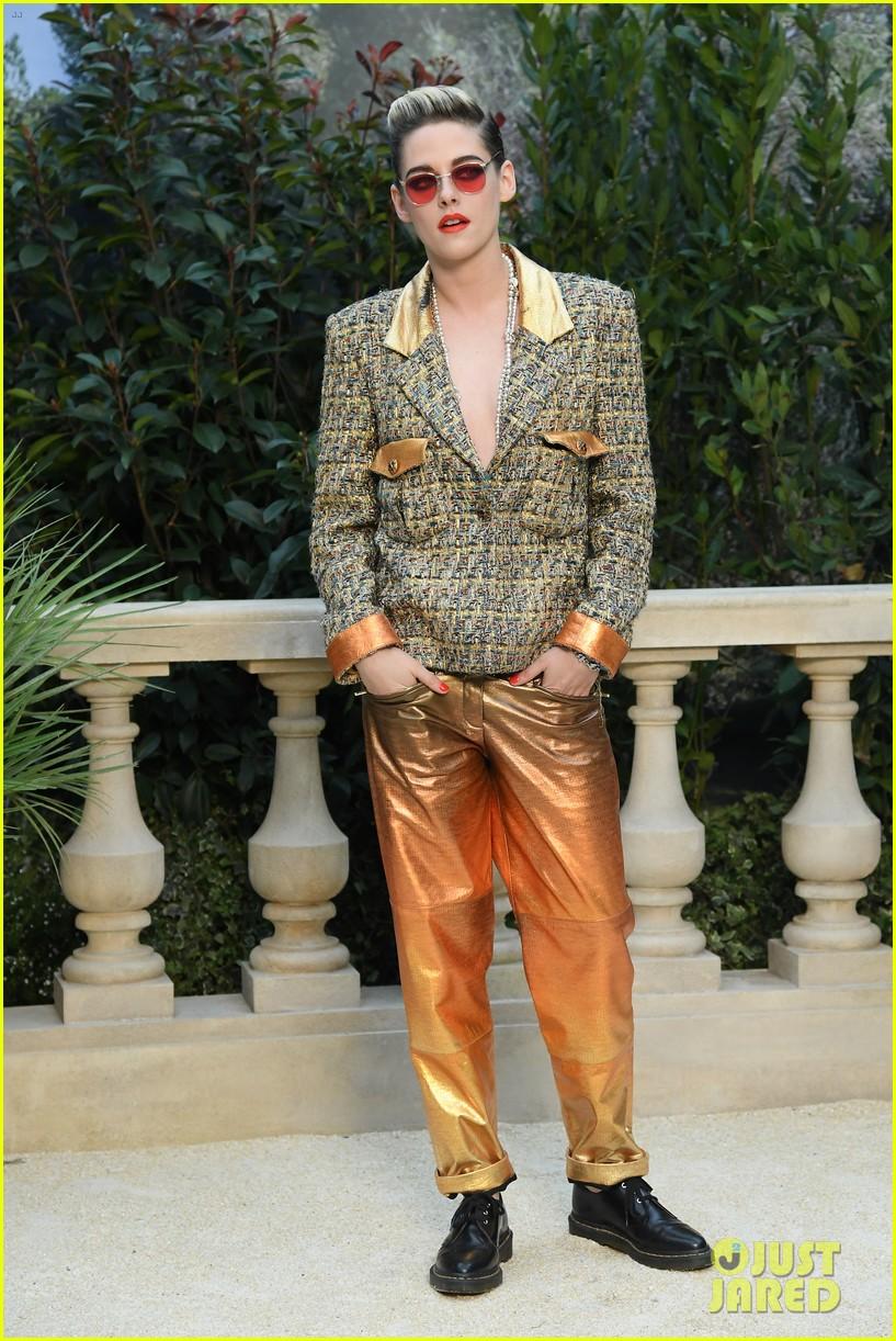 kristen stewart tessa thompson marion cotillard step out for chanel haute couture 16