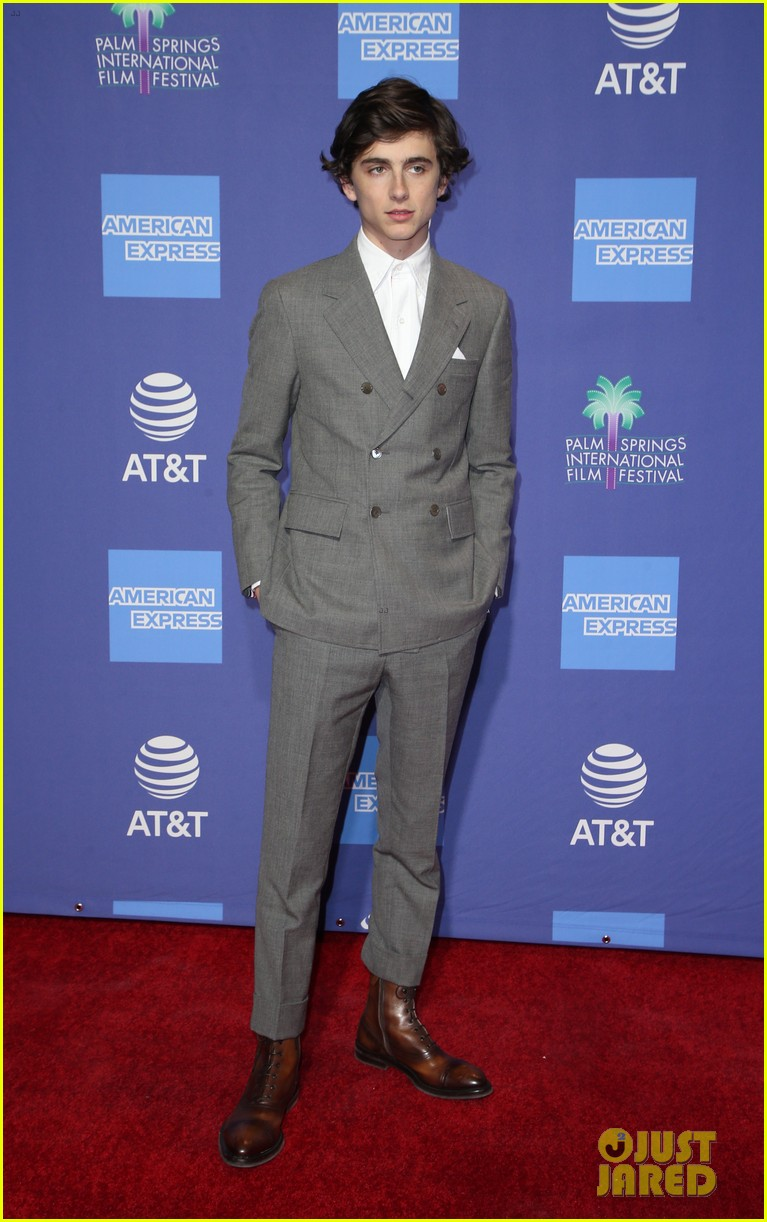 timothee chalamet gary oldman suit up for palm springs film fest 01