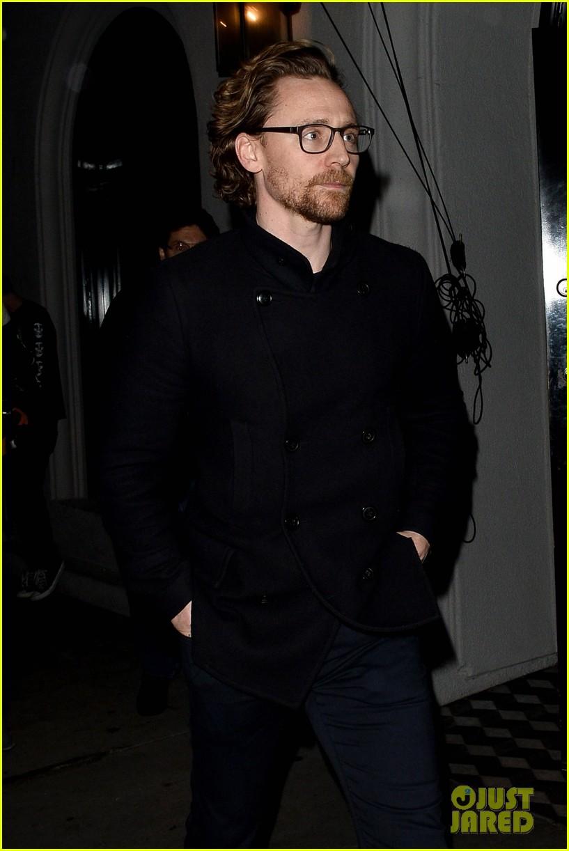 Tom Hiddleston Heads To Dinner At Craig S In West