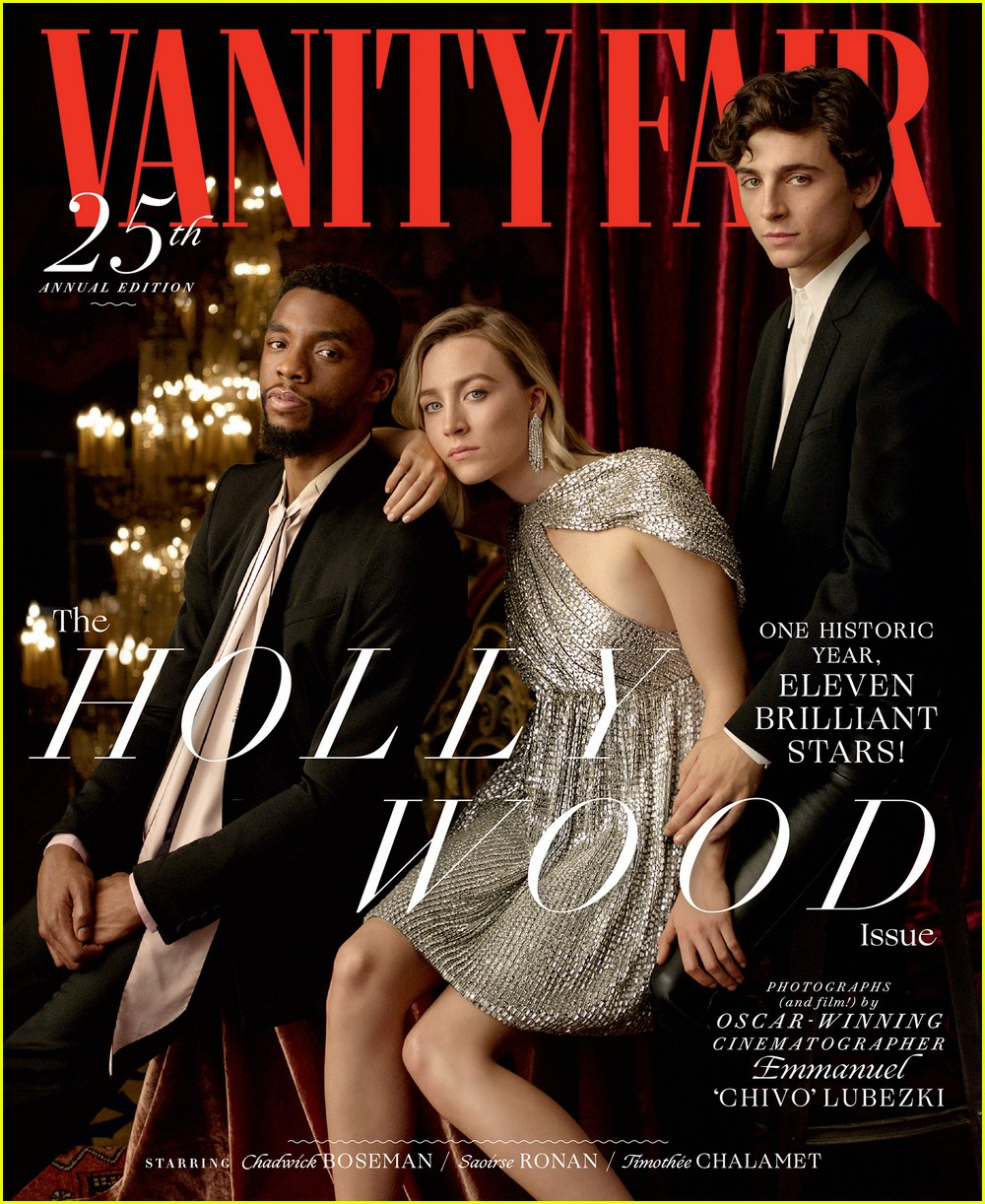 Vanity Fair's Hollywood Issue Features 11 Famous Stars