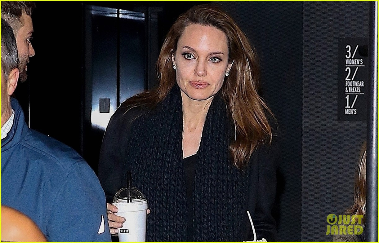 Angelina Jolie News: Angelina Jolie Has A Family Dinner In New York City