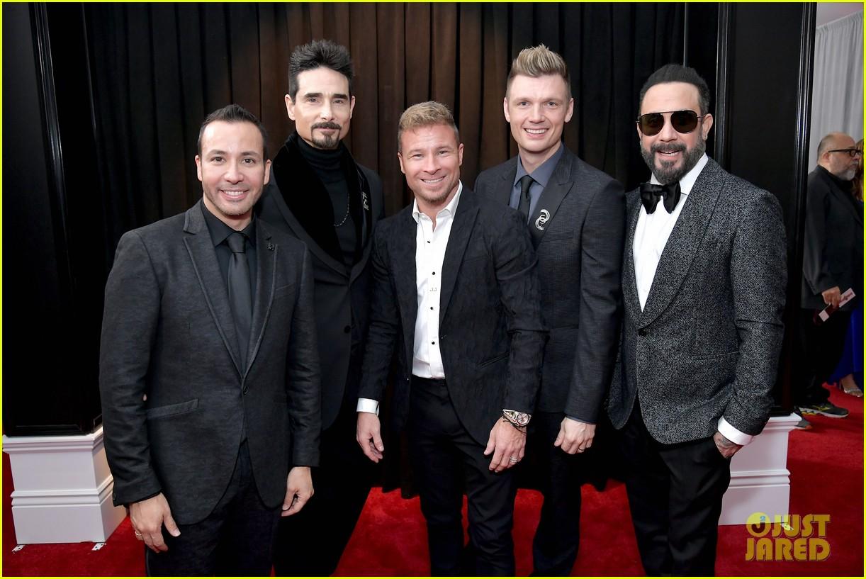 backstreet boys suit up for grammys 2019 red carpet 034236144