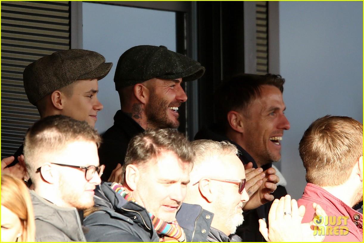 david beckham attends salford city game 03