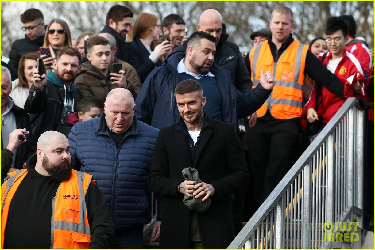 david beckham attends salford city game 08