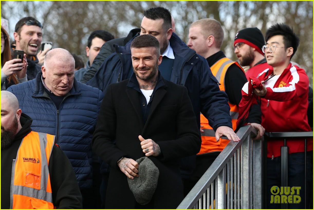 david beckham attends salford city game 16