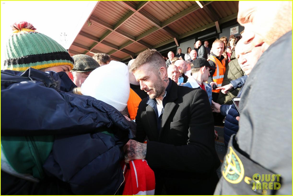 david beckham attends salford city game 18