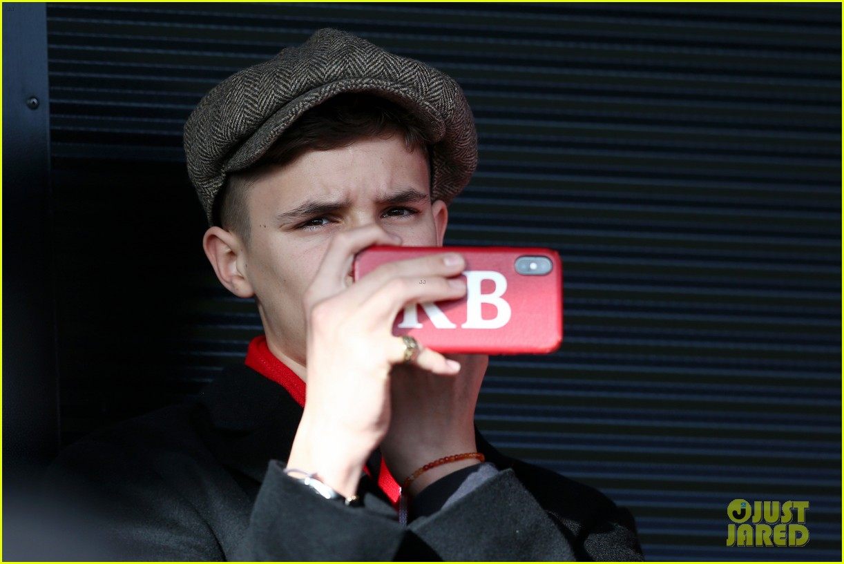 david beckham attends salford city game 19
