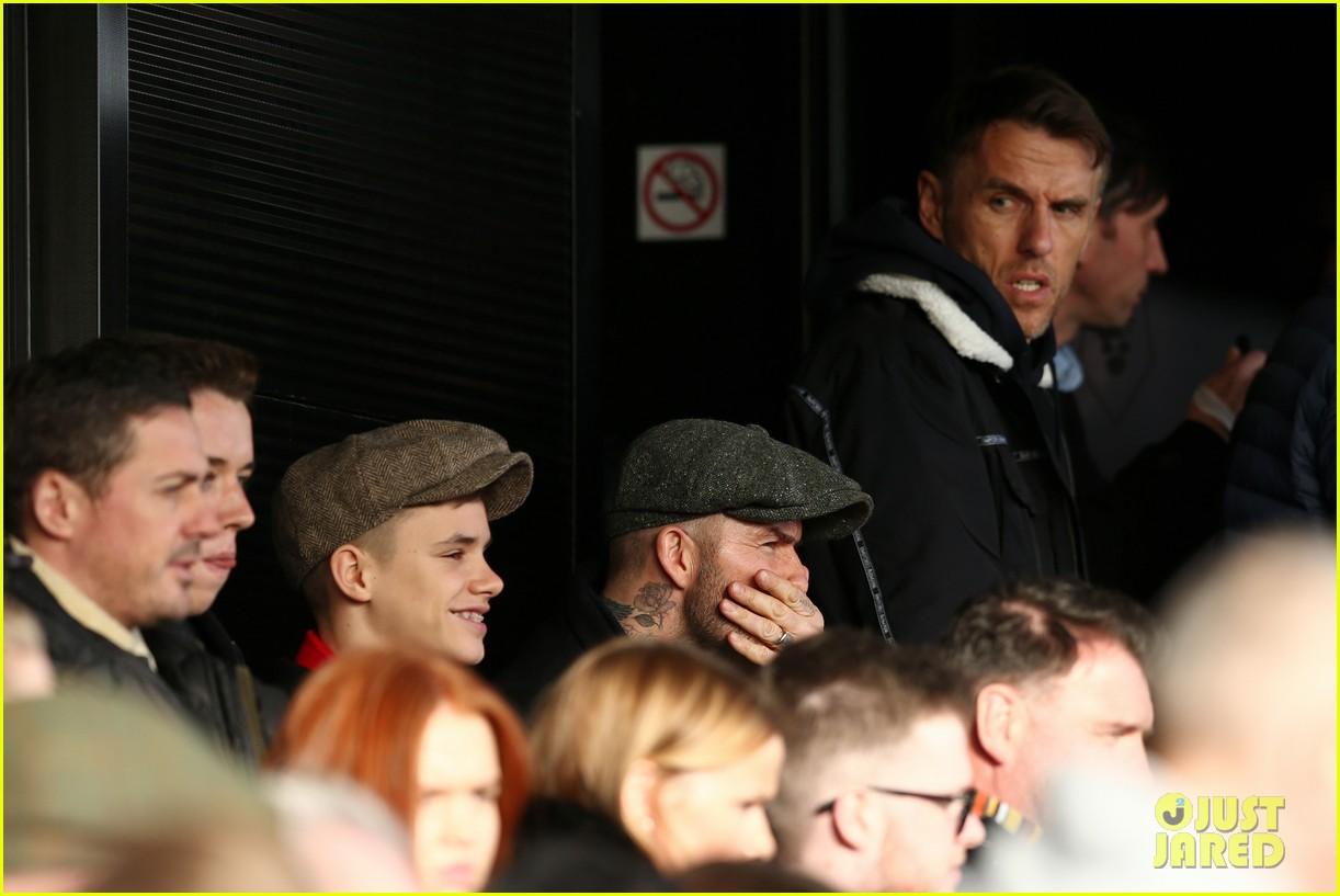 david beckham attends salford city game 21